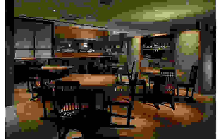 INTERIOR/2 モダンなレストラン の BaNANA OFFICE INC. モダン