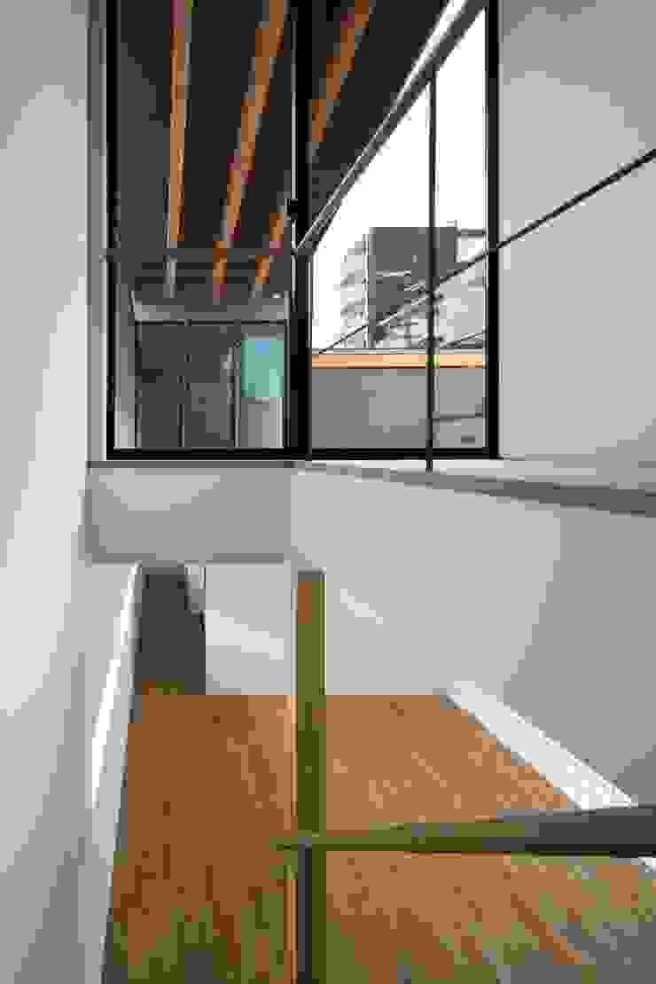 階段 オリジナルスタイルの 玄関&廊下&階段 の 井上久実設計室 オリジナル