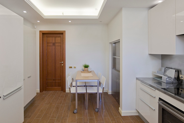 Вспомогательная кухня Кухня в стиле лофт от ItalProject Лофт