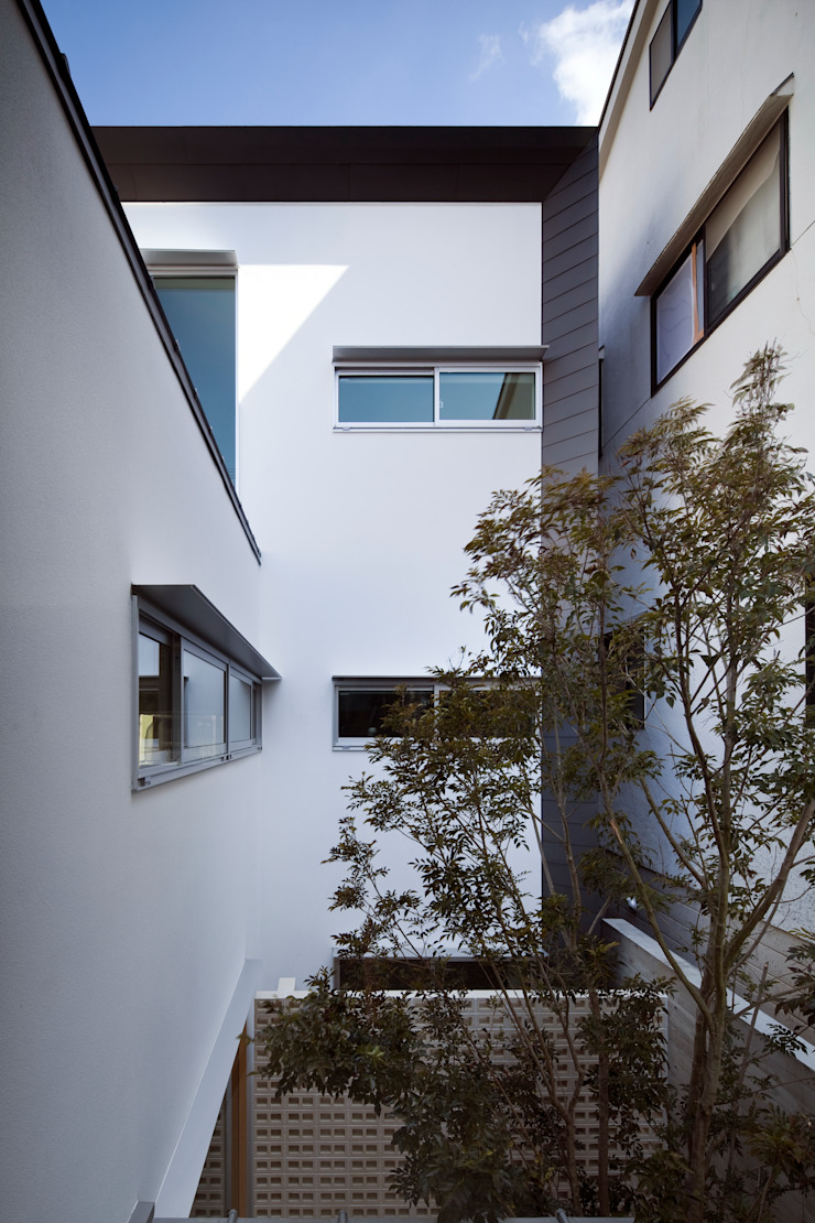 Eclectic style garden by 井上久実設計室 Eclectic