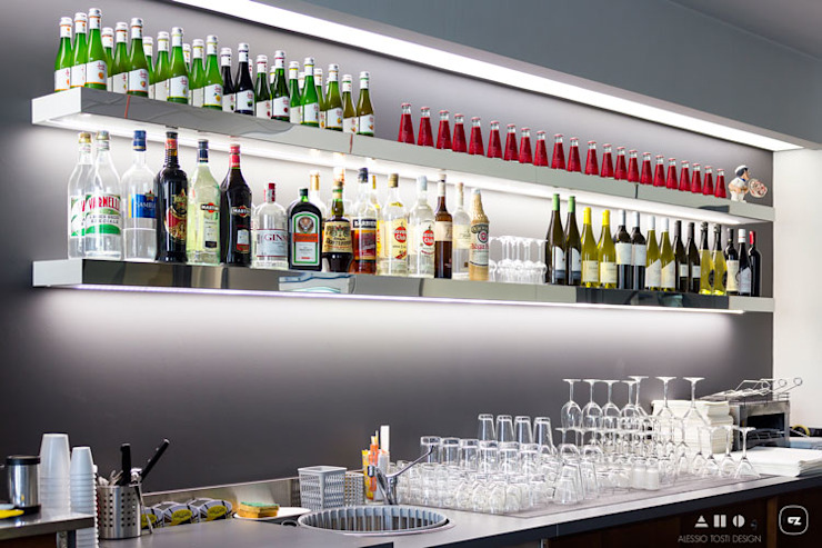 Industrial style bars & clubs by ALESSIO TOSTI DESIGN Industrial