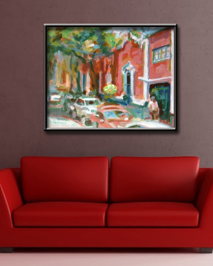Laurel Avenue Room: modern  by Opper & Webb Fine Art Dealers, Modern