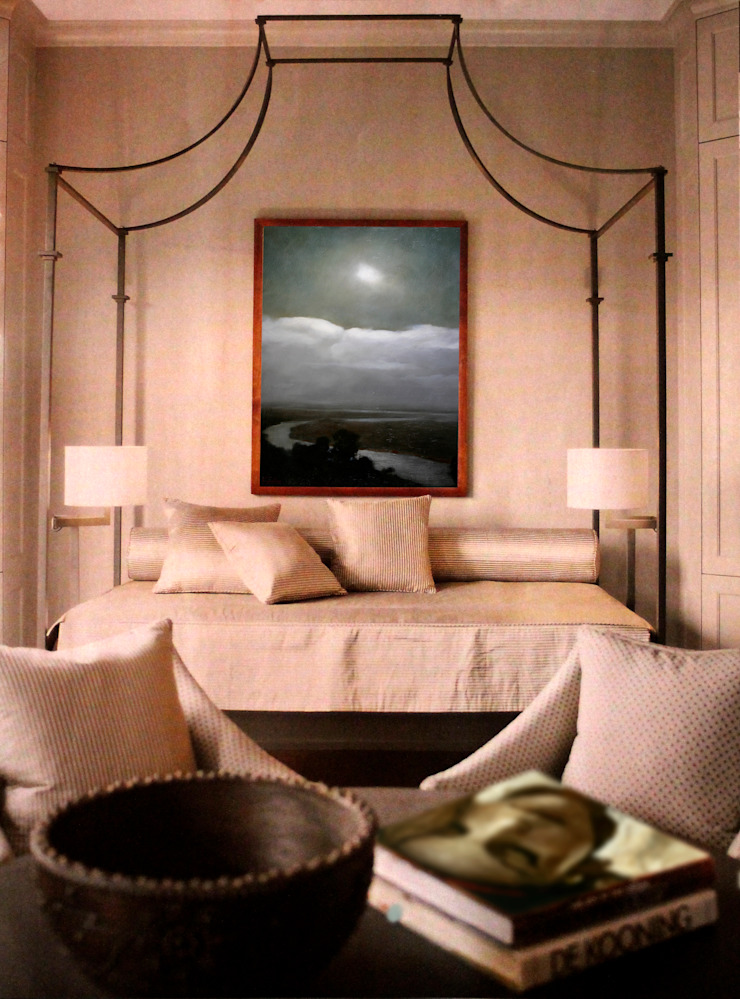 Landscape Room Classic style bedroom by Opper & Webb Fine Art Dealers Classic