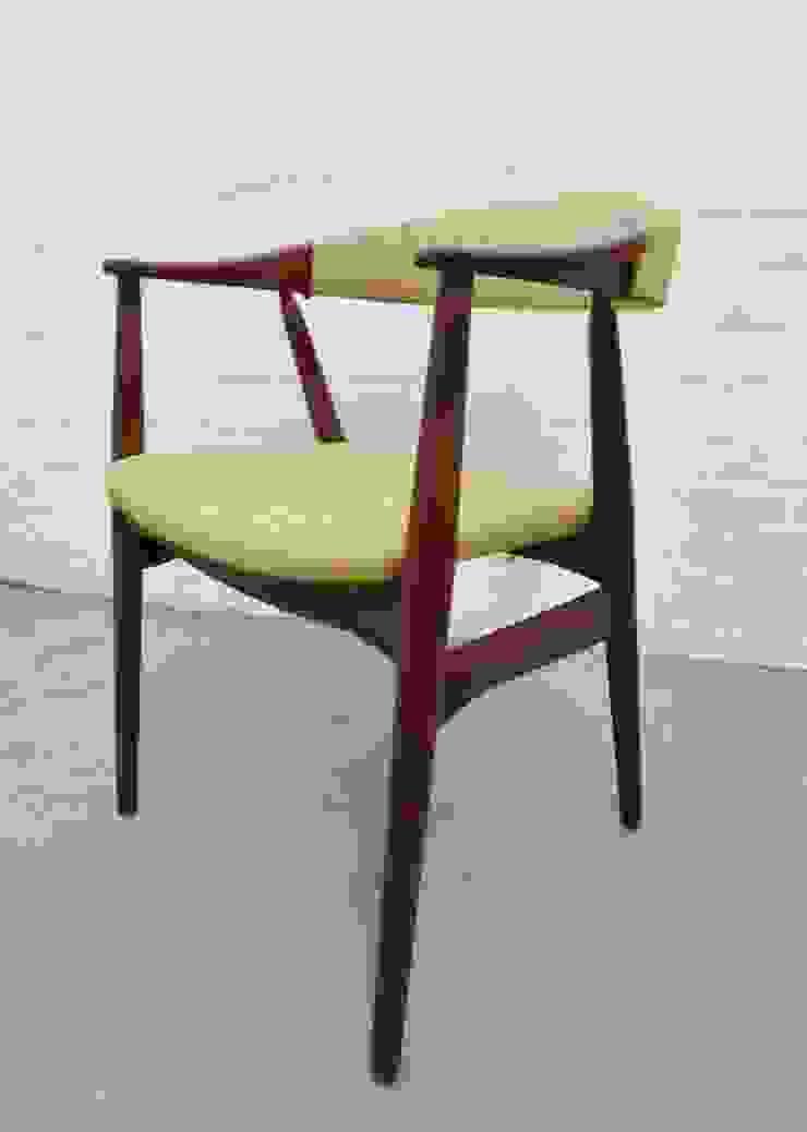 Mid-century Danish teak desk chair by Farstrup : scandinavian  by Archive Furniture , Scandinavian