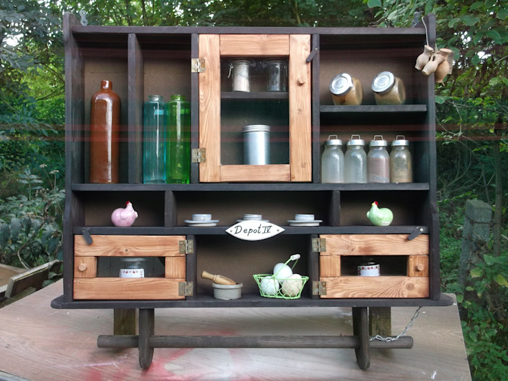 rustic  by Holzlust-Galerie im Oderbruch-, Rustic