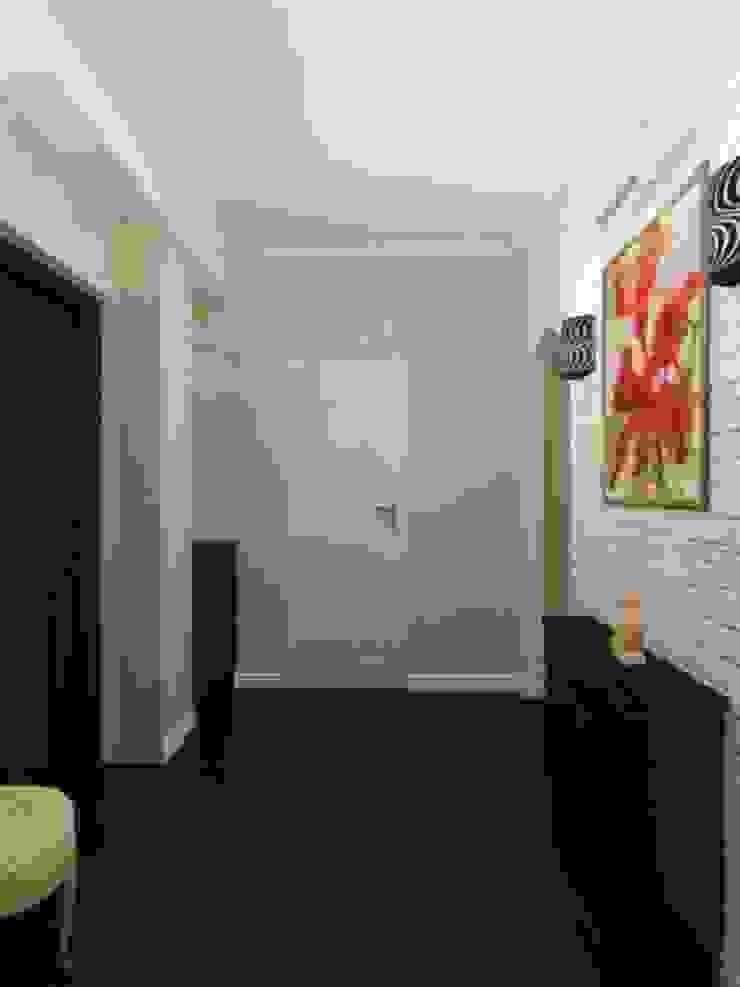 Изумруд Коридор, прихожая и лестница в эклектичном стиле от Дизайн студия Александра Скирды ВЕРСАЛЬПРОЕКТ Эклектичный