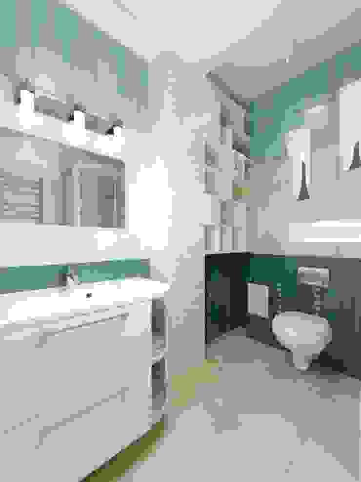 Изумруд Ванная комната в эклектичном стиле от Дизайн студия Александра Скирды ВЕРСАЛЬПРОЕКТ Эклектичный