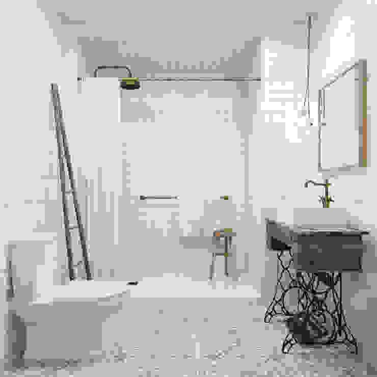 Ванные комнаты в . Автор – homify, Лофт