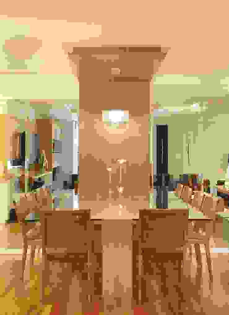 Apartamento Barra da Tijuca Salas de jantar modernas por Cris Moura Arquitetura Moderno