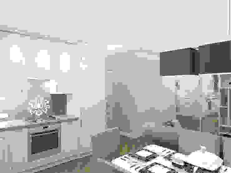 Квартира с акцентом Столовая комната в классическом стиле от Дизайн студия Александра Скирды ВЕРСАЛЬПРОЕКТ Классический