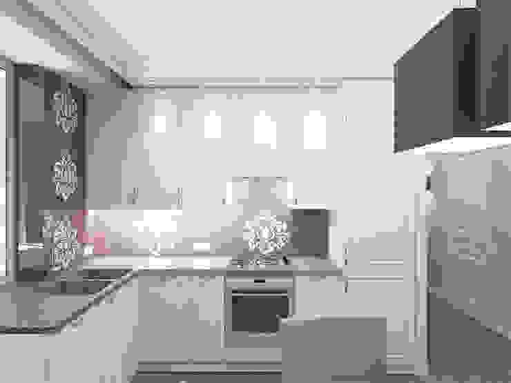 Квартира с акцентом Кухня в классическом стиле от Дизайн студия Александра Скирды ВЕРСАЛЬПРОЕКТ Классический