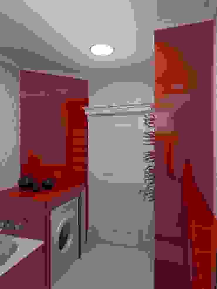 Квартира с акцентом Ванная комната в эклектичном стиле от Дизайн студия Александра Скирды ВЕРСАЛЬПРОЕКТ Эклектичный