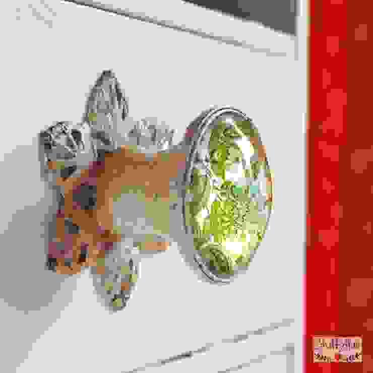 PAISLEY GREEN Möbelknopf von Shabbyflair Landhaus