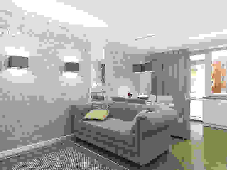 Квартира с акцентом Гостиная в классическом стиле от Дизайн студия Александра Скирды ВЕРСАЛЬПРОЕКТ Классический