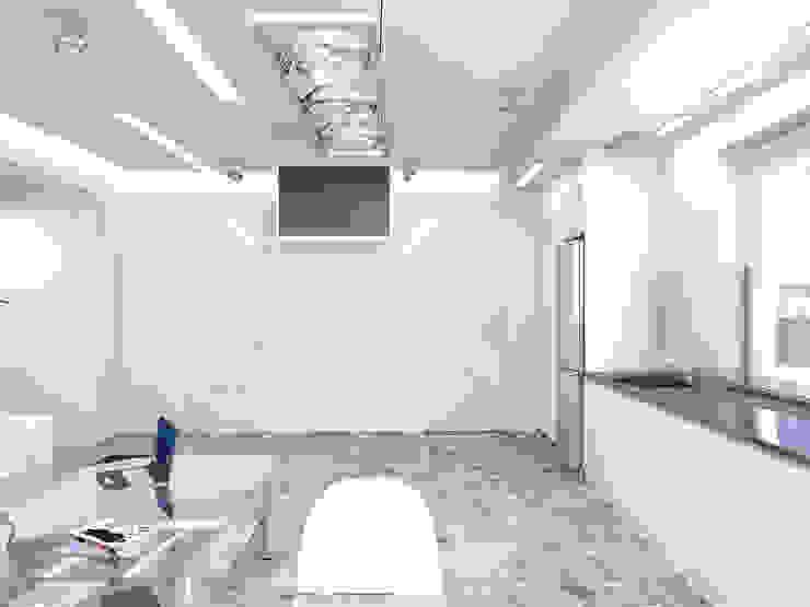 Чистота Кухня в стиле минимализм от Дизайн студия Александра Скирды ВЕРСАЛЬПРОЕКТ Минимализм