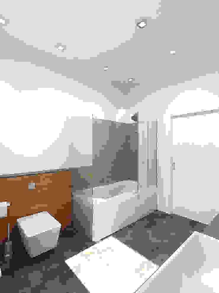 Чистота Ванная комната в стиле минимализм от Дизайн студия Александра Скирды ВЕРСАЛЬПРОЕКТ Минимализм