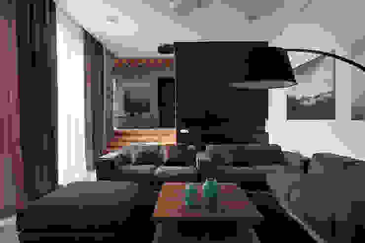Two Levels Гостиная в стиле модерн от NOTT DESIGN STUDIO Модерн