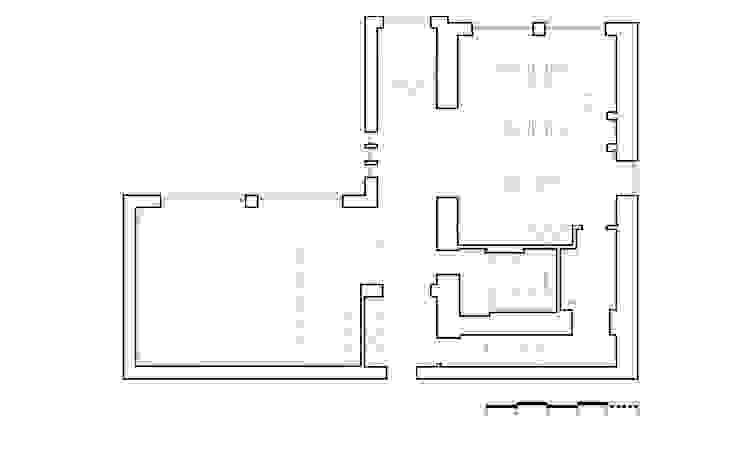 План 1 этажа от NOTT DESIGN STUDIO