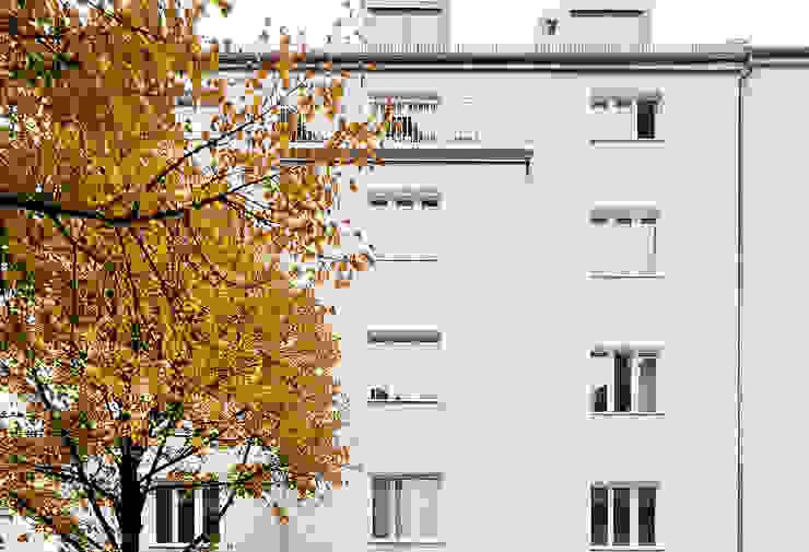 Ansicht Rückgebäude Klassische Häuser von arcs architekten Klassisch