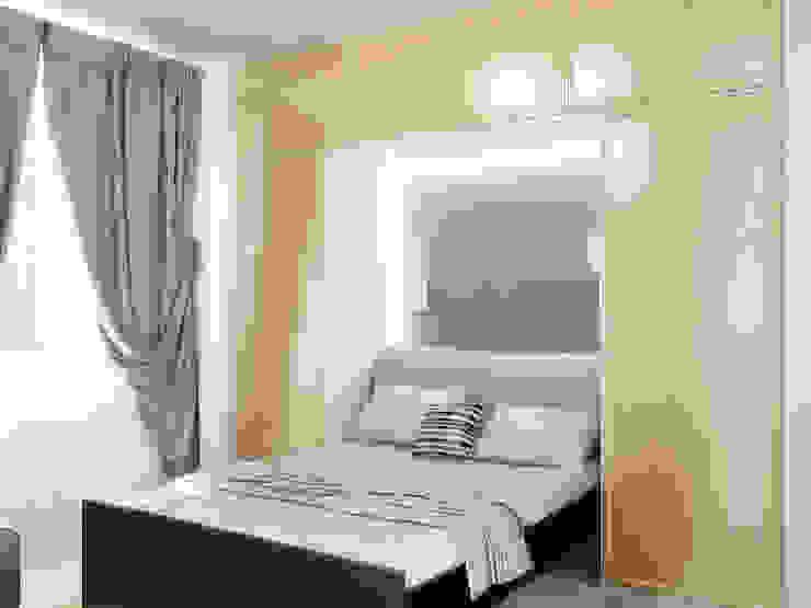 Преображение дома 1961 года Спальня в эклектичном стиле от Дизайн студия Александра Скирды ВЕРСАЛЬПРОЕКТ Эклектичный