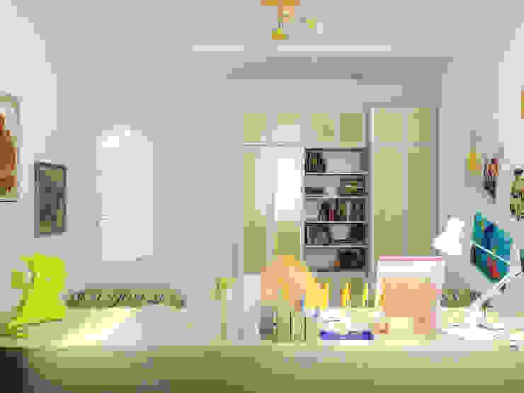 Преображение дома 1961 года Детские комната в эклектичном стиле от Дизайн студия Александра Скирды ВЕРСАЛЬПРОЕКТ Эклектичный