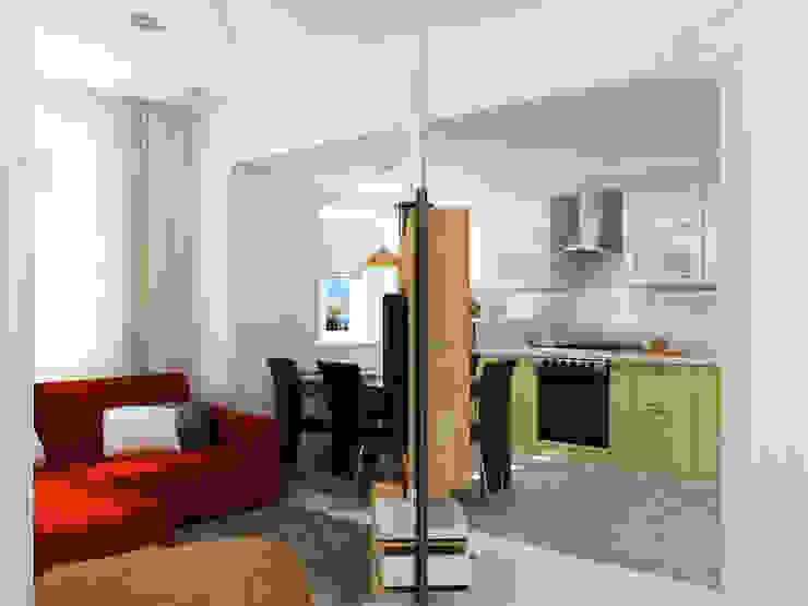 Преображение дома 1961 года Кухни в эклектичном стиле от Дизайн студия Александра Скирды ВЕРСАЛЬПРОЕКТ Эклектичный