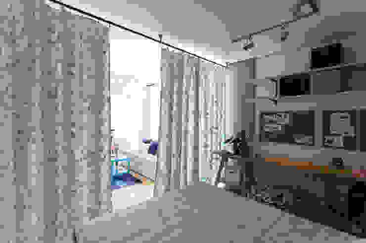 Проект однокомнатной квартиры-студии 40 м² от SAZONOVA group Скандинавский