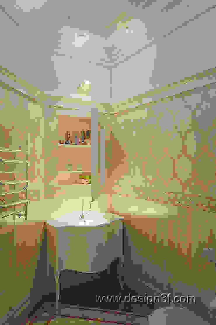 санузел Ванная в классическом стиле от студия Design3F Классический