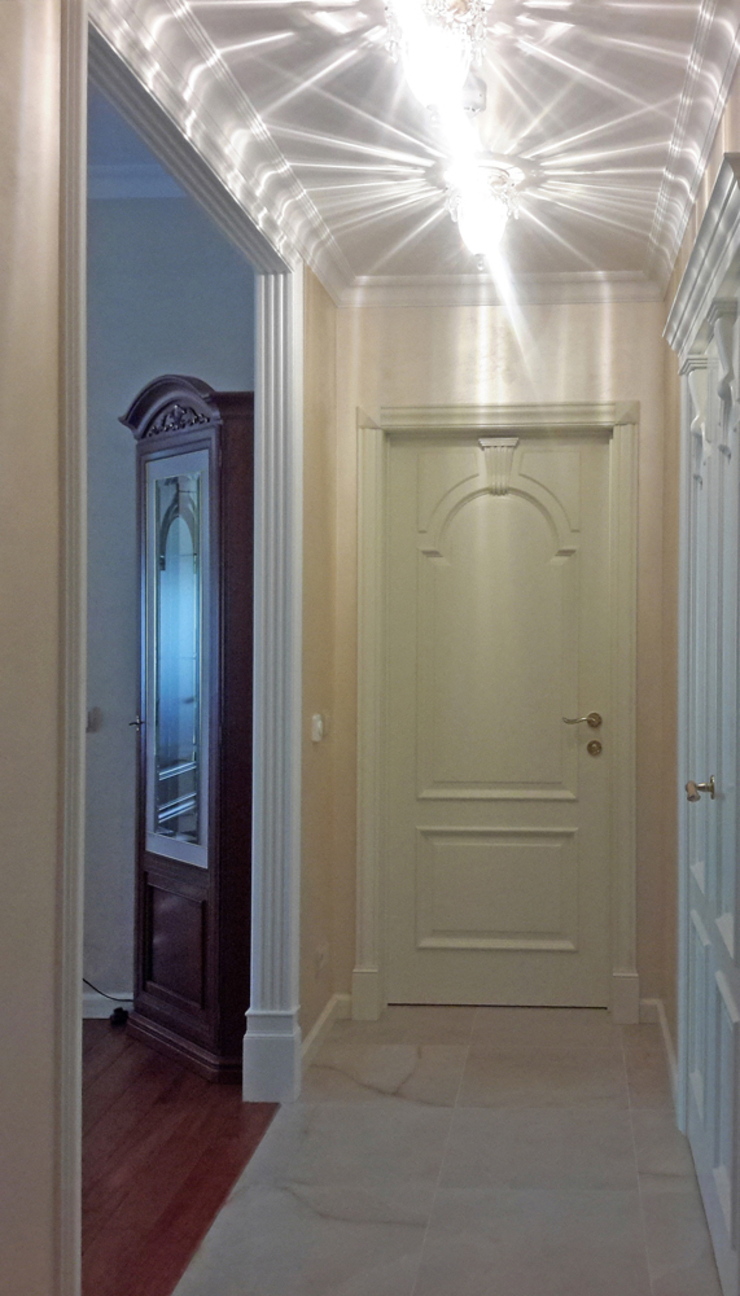коридор от Okeydesign студия интерьера Елены Кабиной