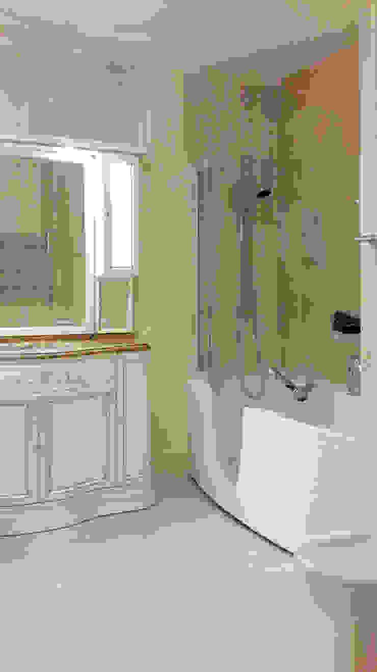 ванная комната от Okeydesign студия интерьера Елены Кабиной