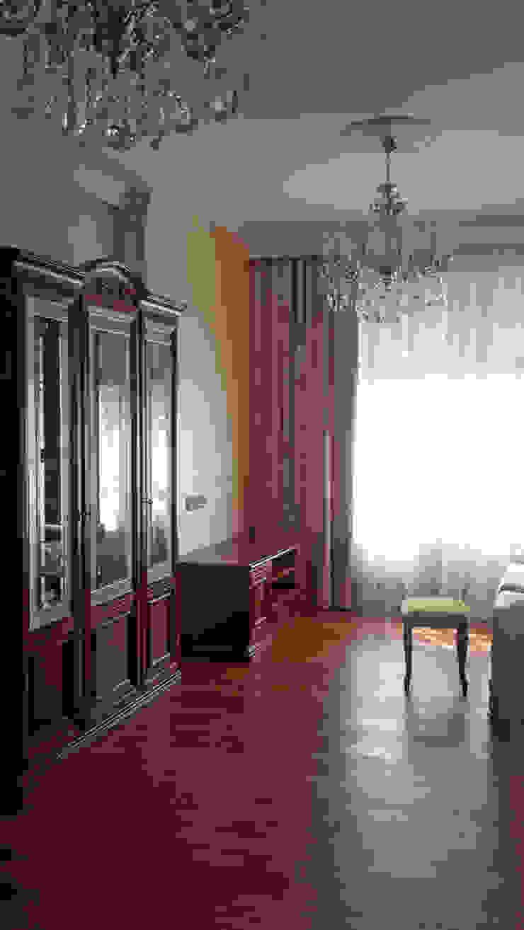 гостиная/кабинет от Okeydesign студия интерьера Елены Кабиной