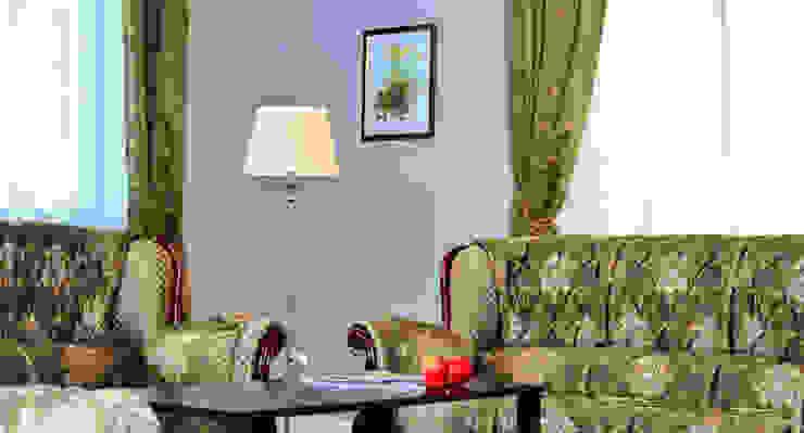 Белая гора Гостиная в классическом стиле от Дизайн студия Александра Скирды ВЕРСАЛЬПРОЕКТ Классический
