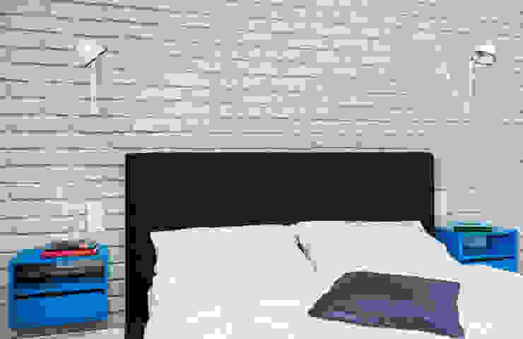 Francja na Powiślu: styl , w kategorii Sypialnia zaprojektowany przez EG Projekt,Skandynawski