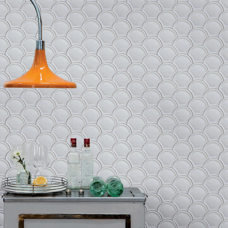 Tiles 'Digitally Printed' Wallpaper Collection Paper Moon Paredes y pisosPapel tapiz