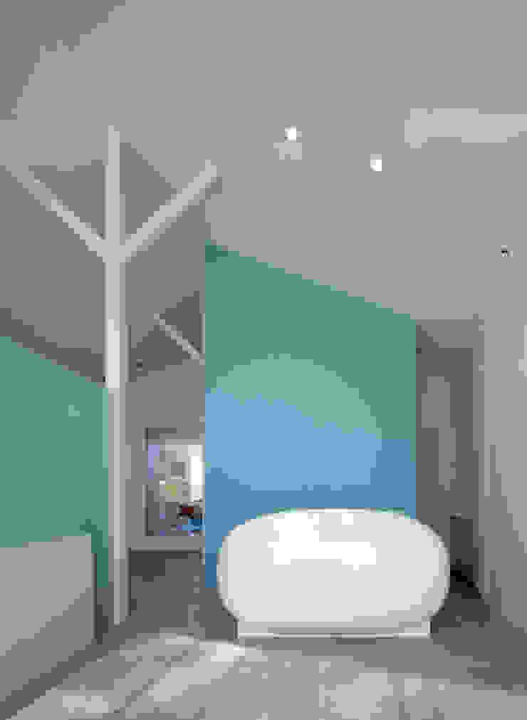 廣瀬歯科診療所 受付 北欧風病院 の eleven nine interior design office 北欧