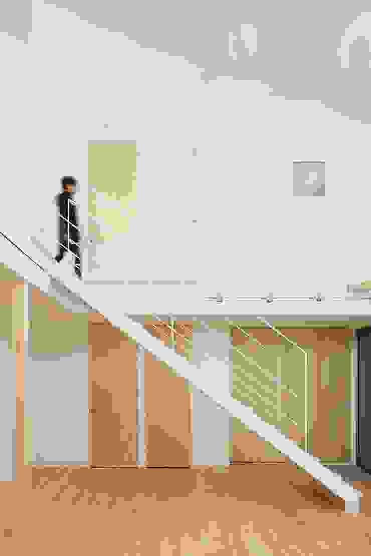 MoyaMoya モダンスタイルの 玄関&廊下&階段 の studio PHENOMENON モダン