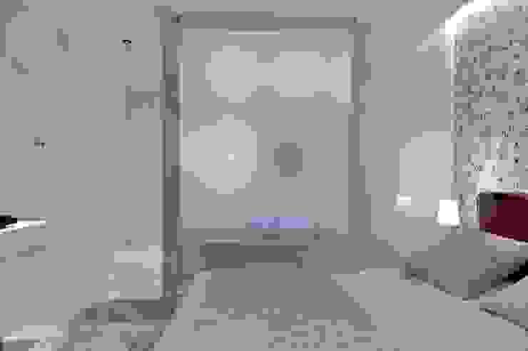Sea Towers Apartment: styl , w kategorii Sypialnia zaprojektowany przez Minsterstwo Spraw We Wnętrzach,Minimalistyczny
