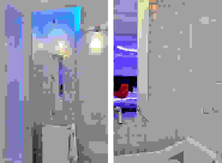 Sea Towers Apartment Minimalistyczna łazienka od Minsterstwo Spraw We Wnętrzach Minimalistyczny
