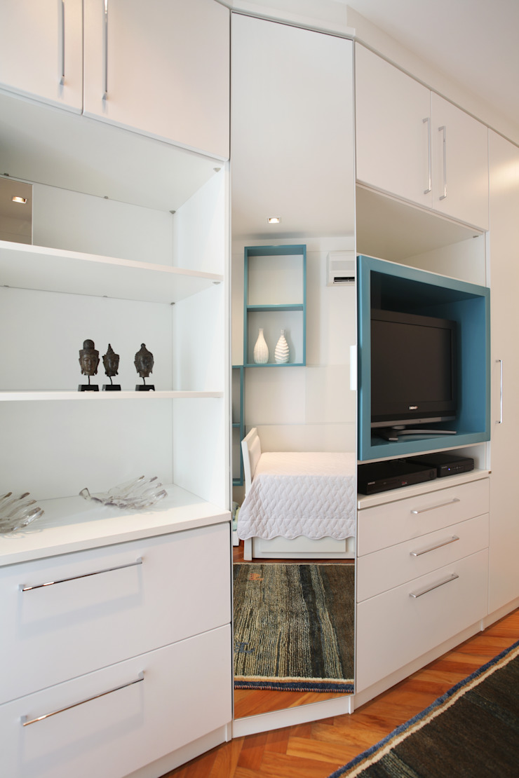 Apartamento Barra da Tijuca Quarto infantil moderno por Cris Moura Arquitetura Moderno