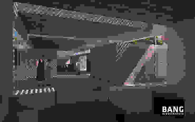 Sala de estar / Áreas comunes de BANG arquitectura