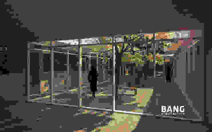 Sala de estar y Patio / Área de cuartos de BANG arquitectura