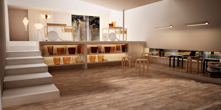 Walls & flooring by Spadon Agenturen