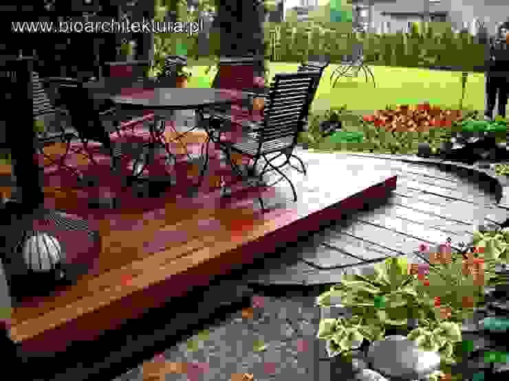 Bioarchitektura - Ogrody, Krajobraz, Zieleń we wnętrzach Balconies, verandas & terraces Accessories & decoration