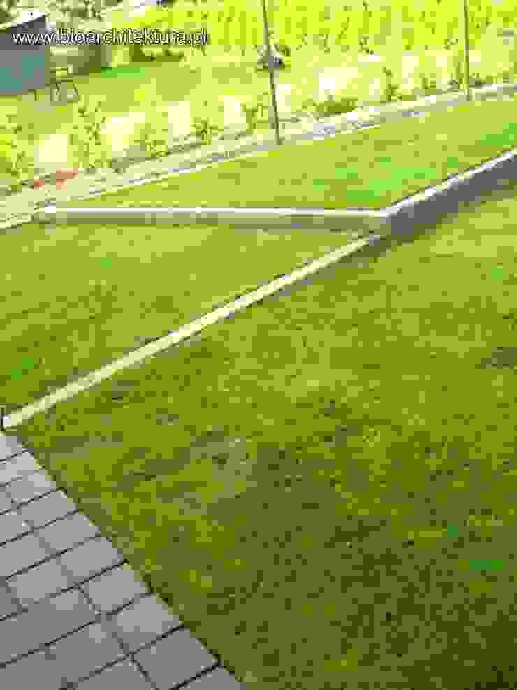 Vườn phong cách hiện đại bởi Bioarchitektura - Ogrody, Krajobraz, Zieleń we wnętrzach Hiện đại
