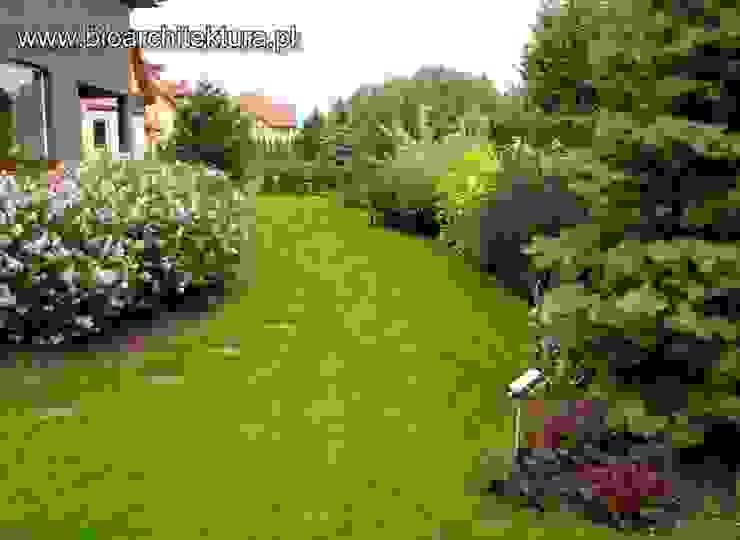 OGRODY Klasyczny ogród od Bioarchitektura - Ogrody, Krajobraz, Zieleń we wnętrzach Klasyczny