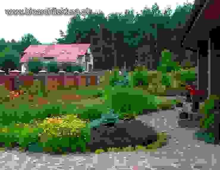 Bioarchitektura - Ogrody, Krajobraz, Zieleń we wnętrzach Country style garden