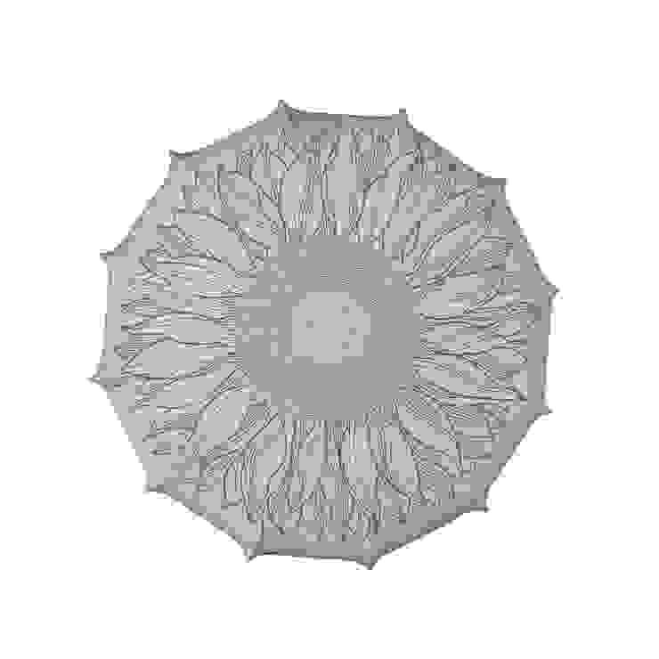 Plafon Sunflower (mały) od Lumiforma Minimalistyczny