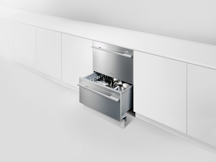 DishDrawer(TM) Dishwasher de Fisher & Paykel Moderno