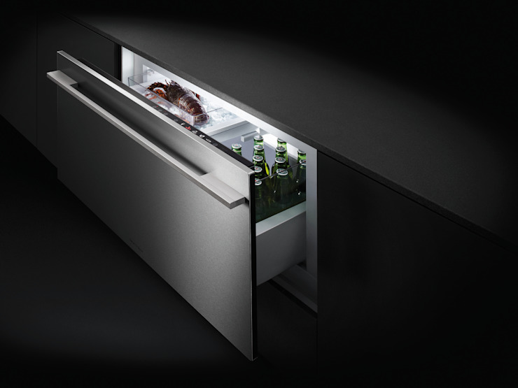 Multi-temperature Cool Drawer di Fisher & Paykel Moderno