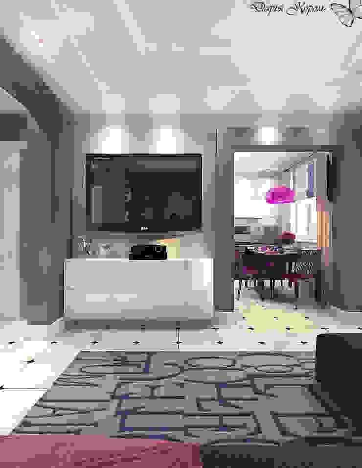 Panel flat <q>Urban theme</q> Гостиная в стиле минимализм от Your royal design Минимализм